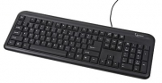 Keyboard KB-U-101 USB Black