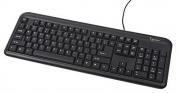 Keyboard KB-U-101 USB Black