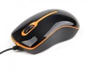 Mouse MUS-004-O Optical Black & Orange 1000DPI PS/2
