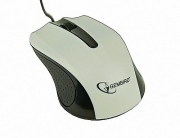 Mouse MUS-101-W Optical White 1200DPI USB