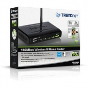 Trendnet Wireless N Home Router 150Mbps TEW-651BR